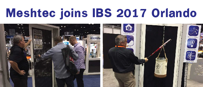 Meshtec joins ibs 2017 orlando security doors and for 2017 nahb international builders show